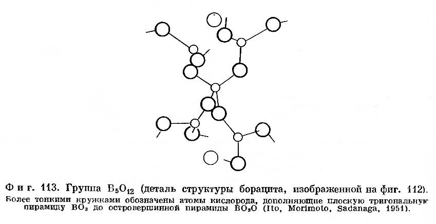 Фиг. 113. Деталь структуры борацита