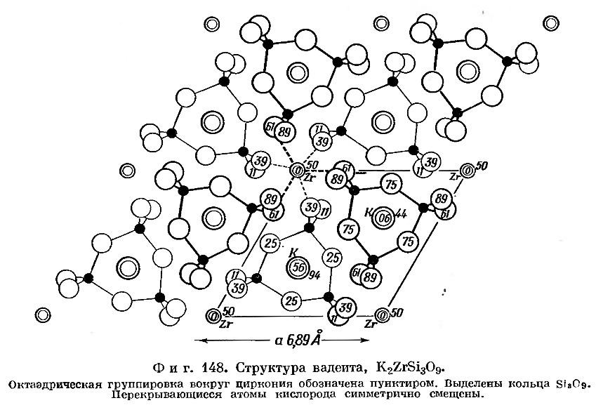 Фиг. 148. Структура вадеита