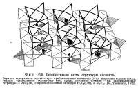 Фиг. 149 б. Перспективная схема структуры аксинита