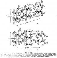 Фиг. 158. Сструктура диопсида и энстатита