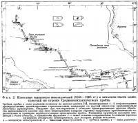 Фиг. 2. Известные эпицентры землетрясений