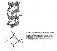 Фиг. 234. Сочленение тетраэдрических групп в скаполитах