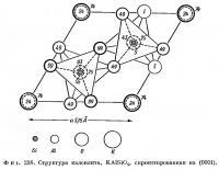 Фиг. 238. Структура калсилита