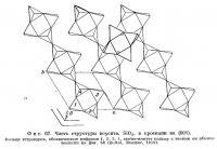 Фиг. 67. Часть структуры коусита