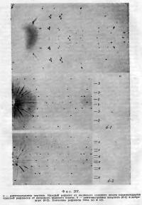 Фиr. 207.  Рентгенограмма пертита