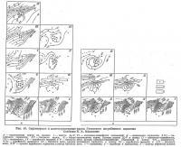 Рис. 10. Структурные и палеоструктурные карты Гуселского погребенного поднятия