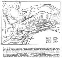 Рис. 11. Палеотектоническая карта позднеюрско-валанжинского времени