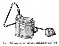 Рис. 12.6. Аккумуляторный светильник СГГ-5-1
