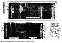 Рис. 1.4. Типовые временные сейсмические разрезы полуострова Гыдан