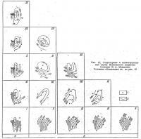 Рис. 15. Структурные и палеоструктурные карты Языковского поднятия