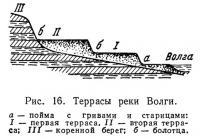 Рис. 16. Террасы реки Волги