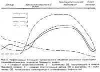 Рис. 2. Нефтегазовый потенциал органического вещества