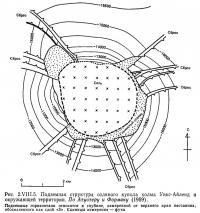 Рис. 2.VIII.5. Подземная структура соляного купола холма Уикс-Айленд