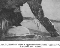 Рис. 31. Прибойное горло в крутонаклонных пластах