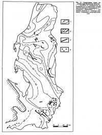 Рис. 3.1. Структурная схема подошвы юры Ямальской области