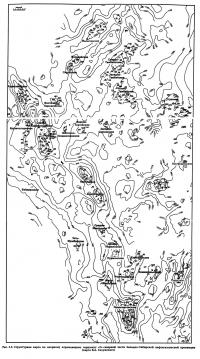 Рис. 3.3. Структурная карта по опорному отражающему горизонту «Г»