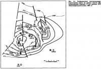 Рис. 3.4. Геофизическое месторождение. Структурная карта по кровле пласта ПК7