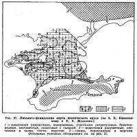 Рис. 37. Литолого-фациальная карта понтического яруса