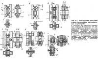 Рис. 6.3. Конструкция крепления стыков проводников, расположенных на расстреле