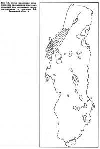 Рис. 6.9. Схема изменения коэффициента превышения пластовых давлений