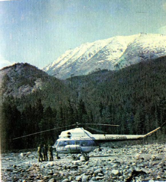 Типичная горная долина Прибайкалья